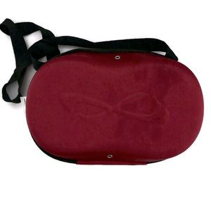 Nfinity red cheer shoe case